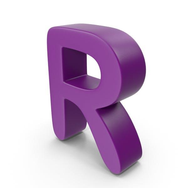 Thumbnail for Purple Letter R