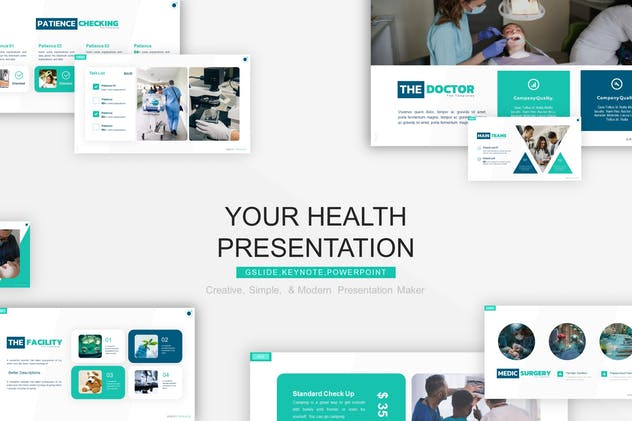 Your Health Presentation Template - product preview 4
