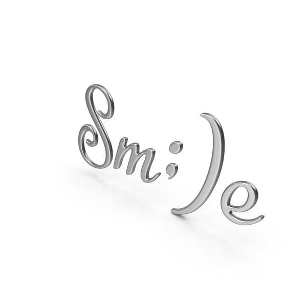 Signo de la sonrisa de la palabra
