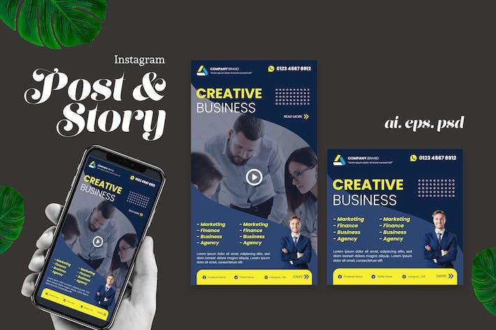 Thumbnail for Business Agency Instagram Story Post