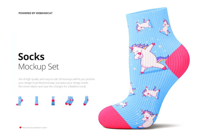 Thumbnail for Socks 3d Mockup