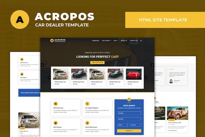 Thumbnail for Acropos - Automotive Dealer Listing Template