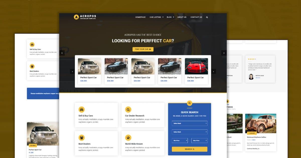 Download Acropos - Automotive Dealer Listing Template by CocoTemplates