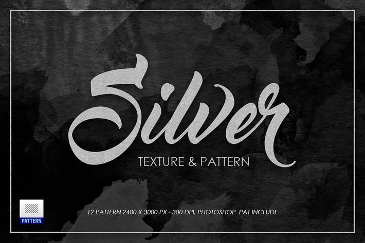 Cover Image For Silver Texture