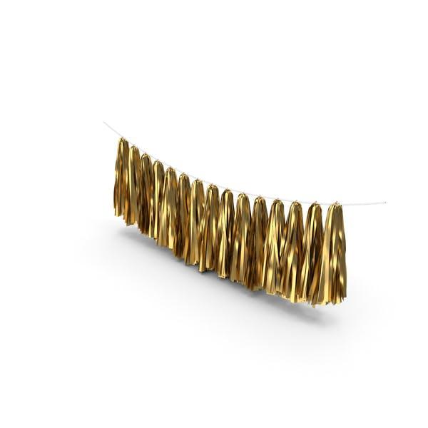 Thumbnail for Gold Tassel Garland