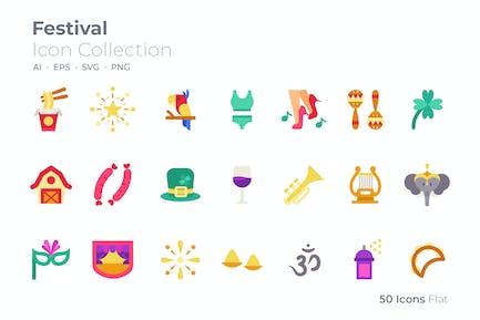 Festival Farbe Symbol