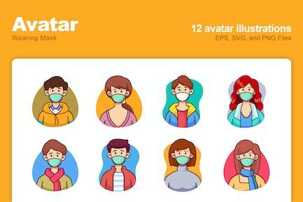 Avatar Wearing Mask