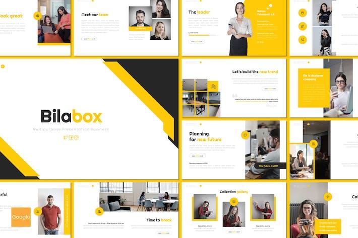 Bilabox - Multipurpose Google Slides Template