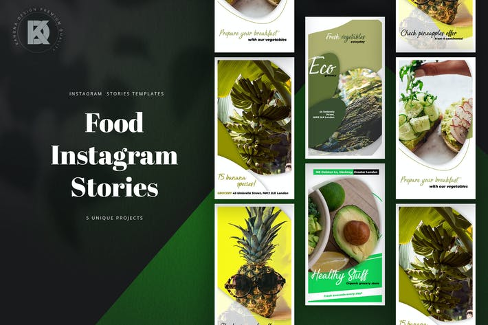 Thumbnail for Food Instagram Stories
