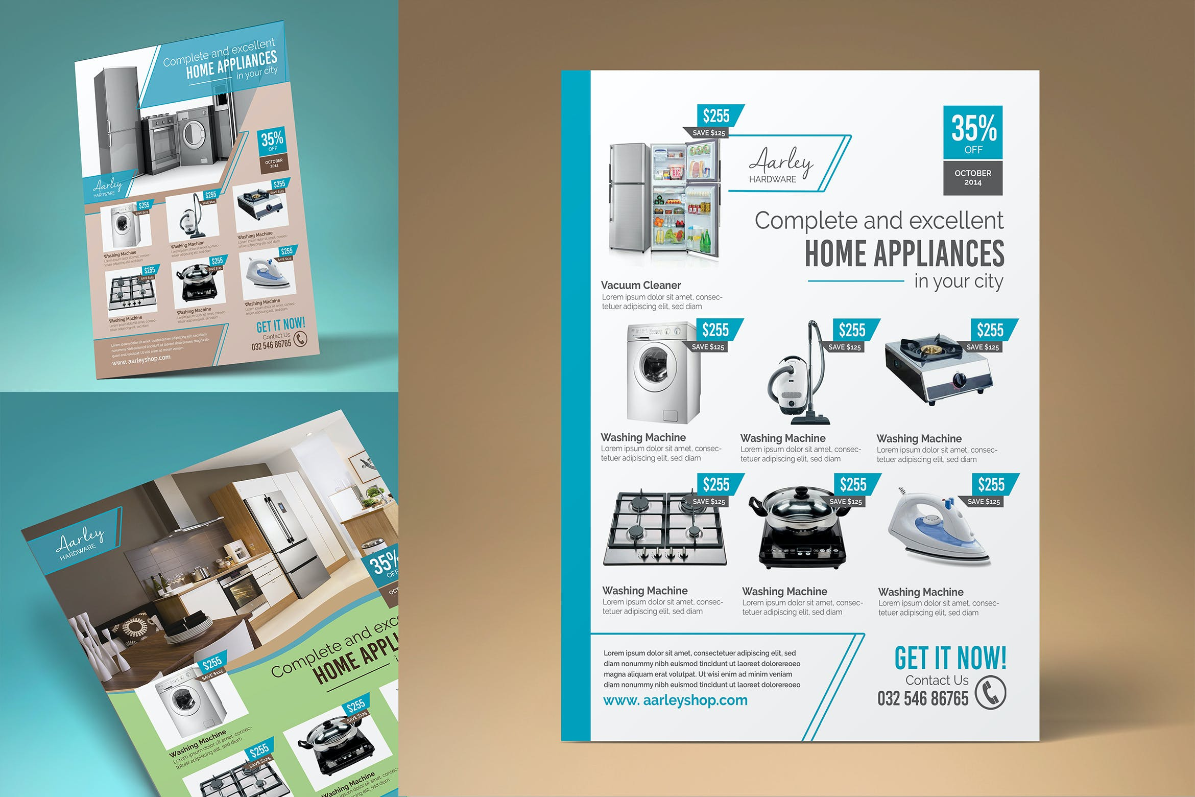 Home Appliances Flyer By Aarleykaiven On Envato Elements