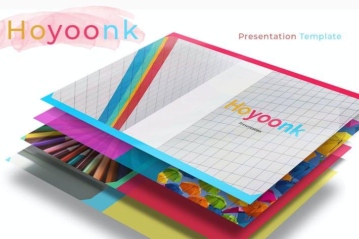 Hoyoonk - Colorful Keynote Presentation