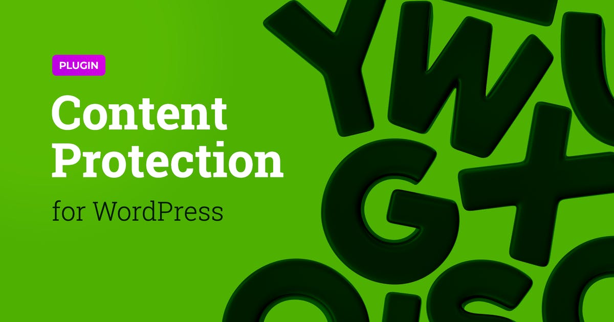 Download Content Protection Plugin for WordPress Theme by merkulove