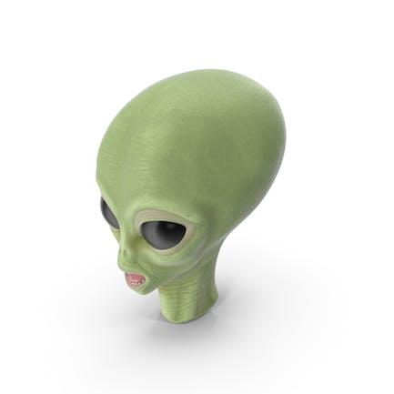 Karikatur Alien