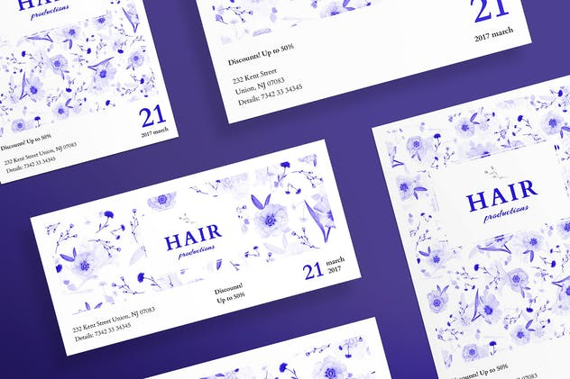 Hair Salon Day Flyer and Poster Template
