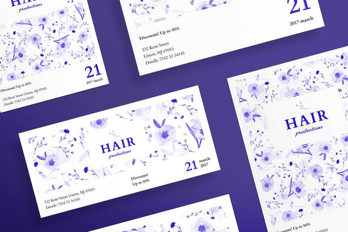Thumbnail for Hair Salon Day Flyer and Poster Template