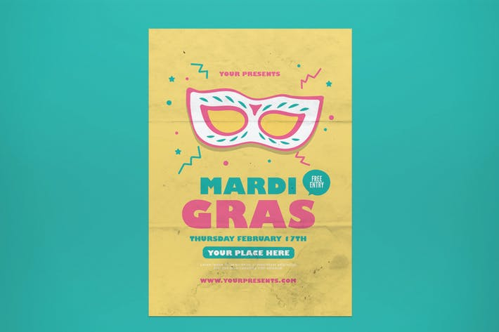Thumbnail for Mardi Gras Flyer