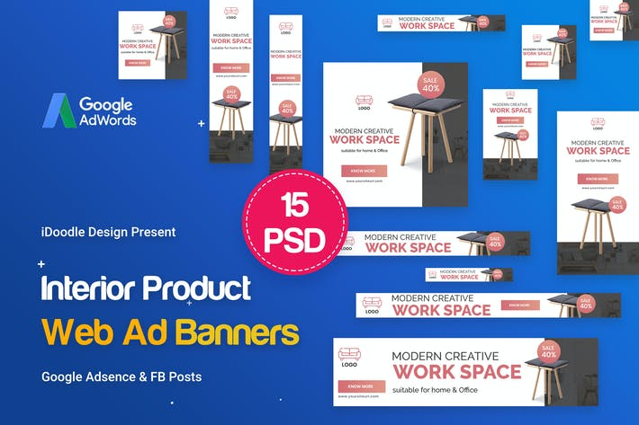 Interior Product Banners Ad