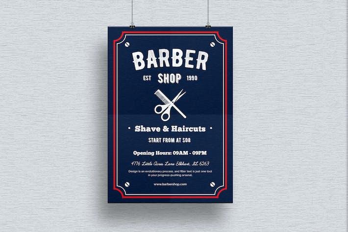 Thumbnail for Barber Shop Flyer-01