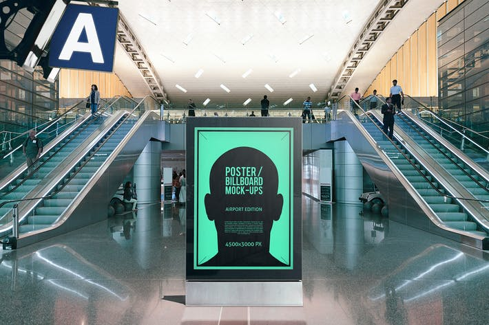 Thumbnail for Плакат/Разделы на рекламном щите - Airport Edition #5