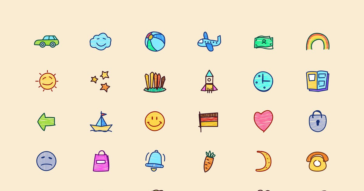 Download Super Naive drawings icons by Rengised