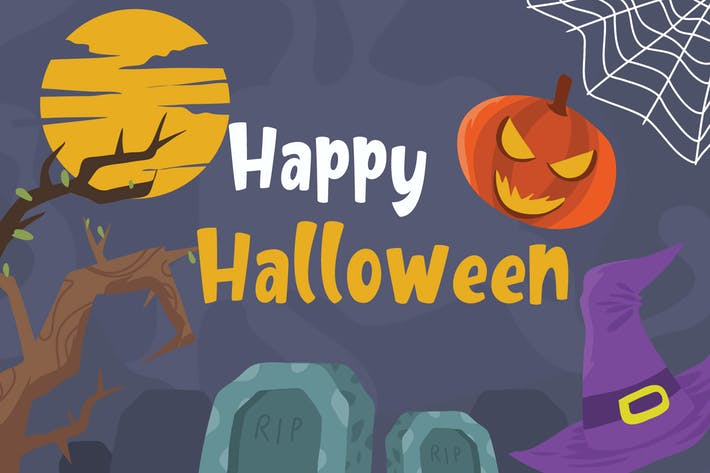 Thumbnail for Halloween - Vector Illustration