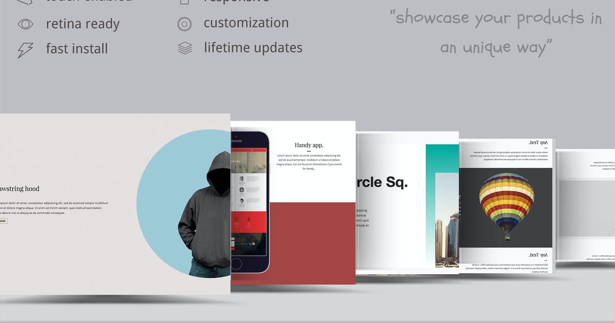Download Parallax Showcase Effects - Present your products by ZoomIt