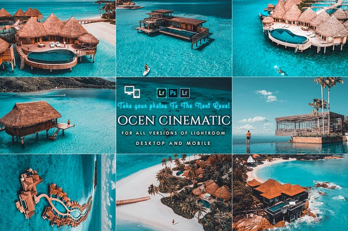 Thumbnail for Cinematic Ocean Presets For Mobile and Desktop