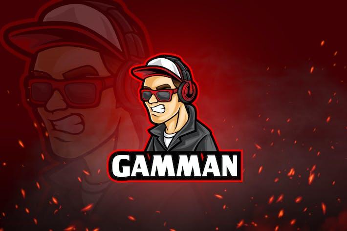 Thumbnail for Jeux Avatar & Logo Esport V10 - Angryman