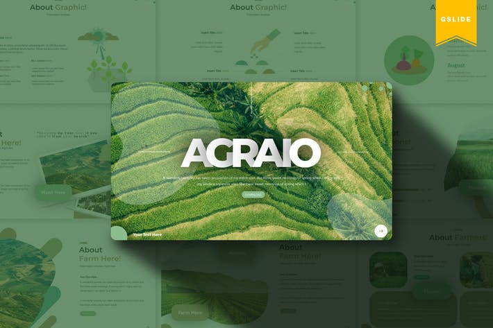 Thumbnail for Agraio | Google Slides Template