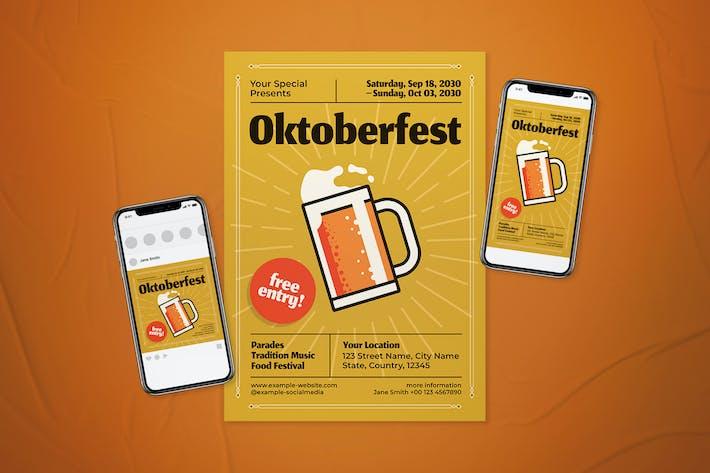 Oktoberfest Flyer Set