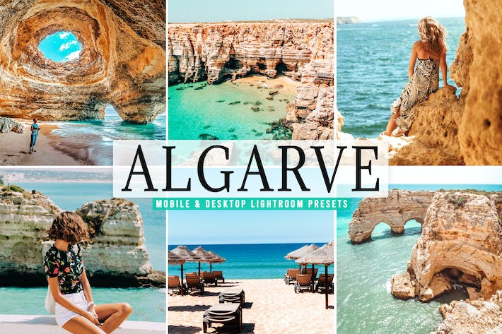 Thumbnail for Algarve Mobile & Desktop Lightroom Presets