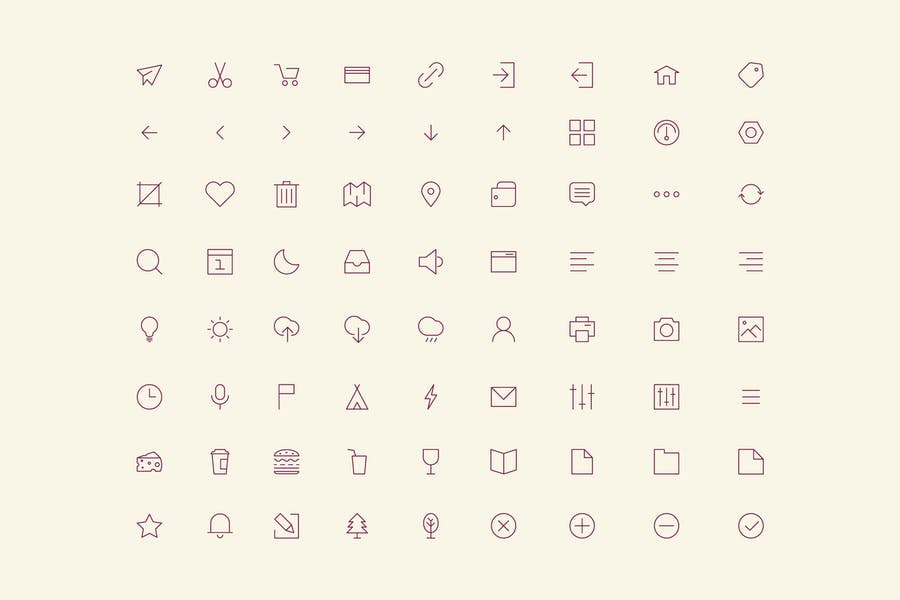 User Interface Icons Set Perfect for Websites