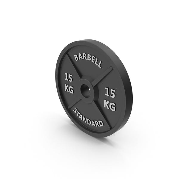 Thumbnail for Barbell Weight Standard 15 kg