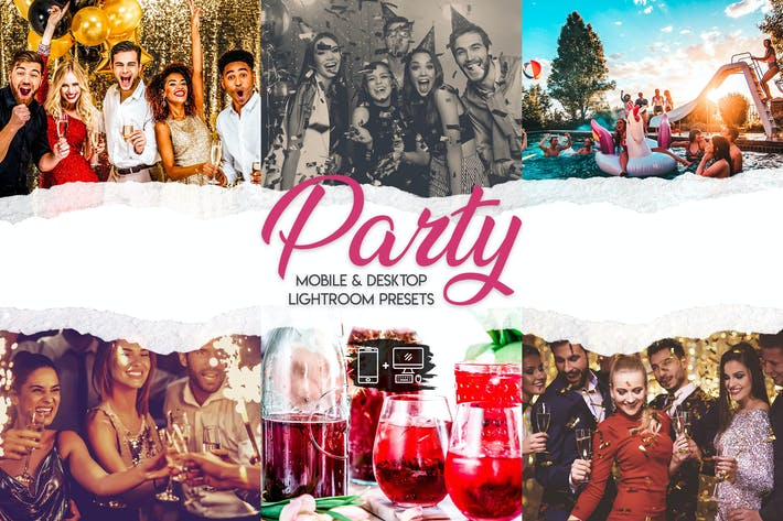 Party - 15 Premium Lightroom Presets