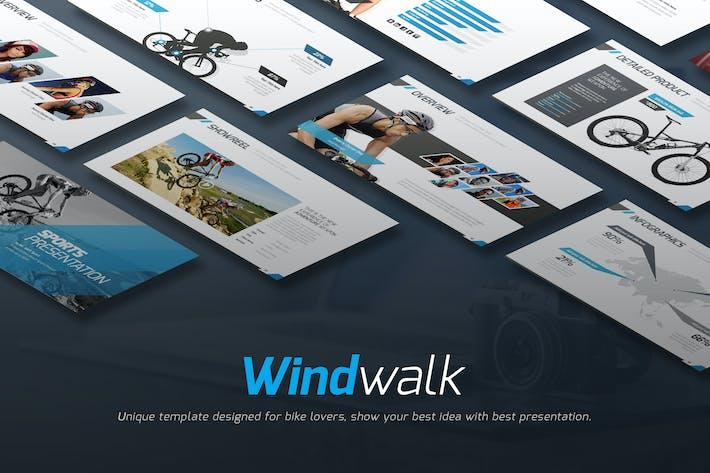 Thumbnail for Шаблон ключевой Keynote ветрового стока