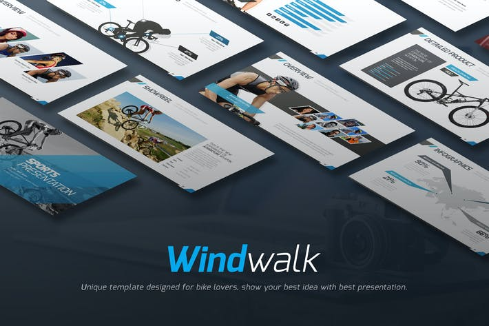 Thumbnail for Windwalk Keynote Template