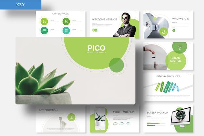 Thumbnail for Pico - Plantilla de Keynote