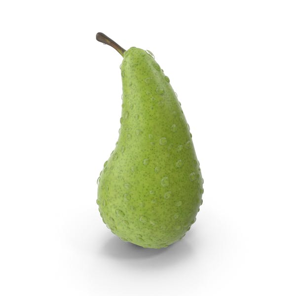 Thumbnail for Pear with Water Droplets