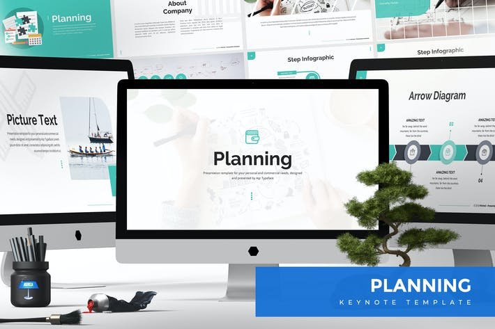 Thumbnail for Planning Keynote Template