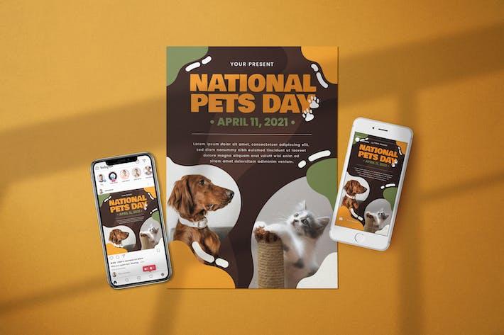 National Pet Day - Flyer Media Kit