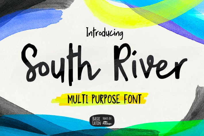Thumbnail for South River Font