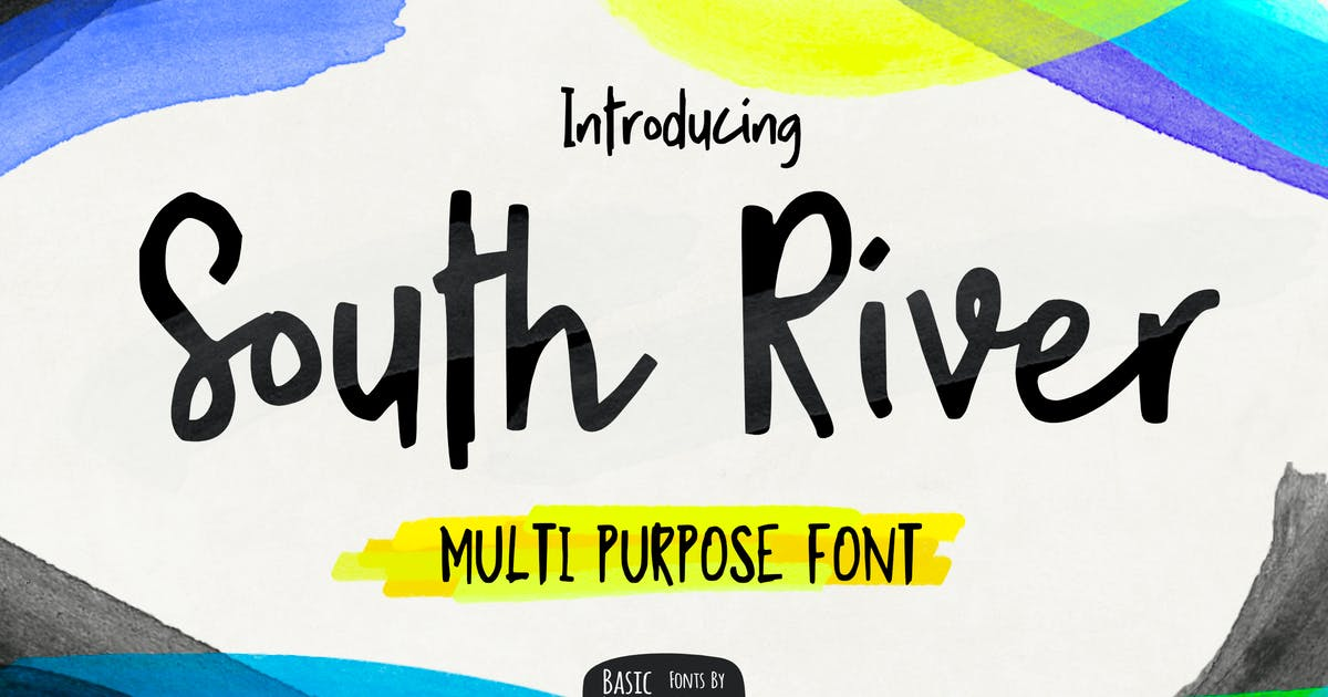 Download South River Font by yandidesigns