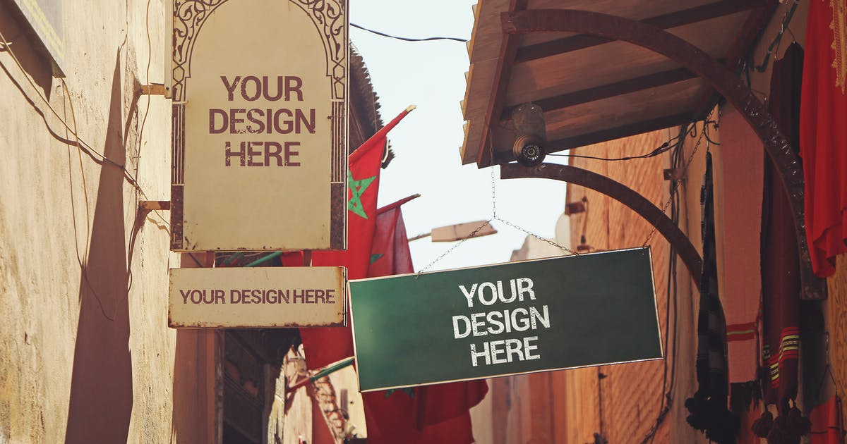 Download Signboards in Morocco by SmartDesigns_eu