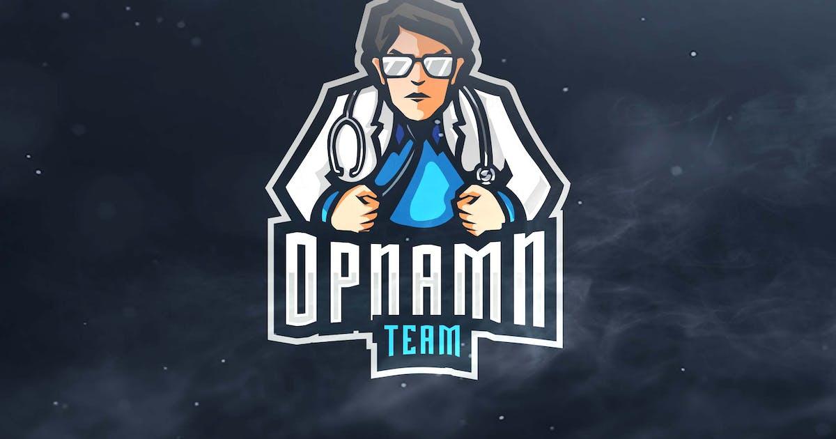 Opnamn Team Sport and Esports Logo by ovozdigital