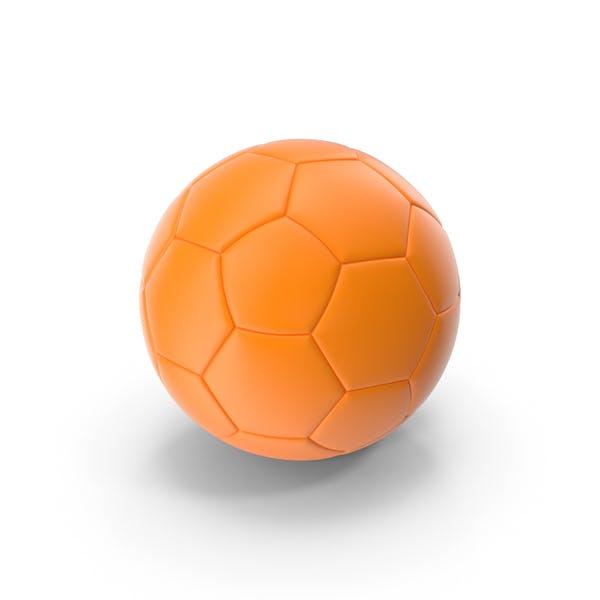 Soccer Ball Orange