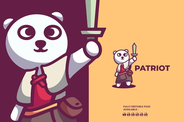 Thumbnail for Bear Cartoon Character Logo