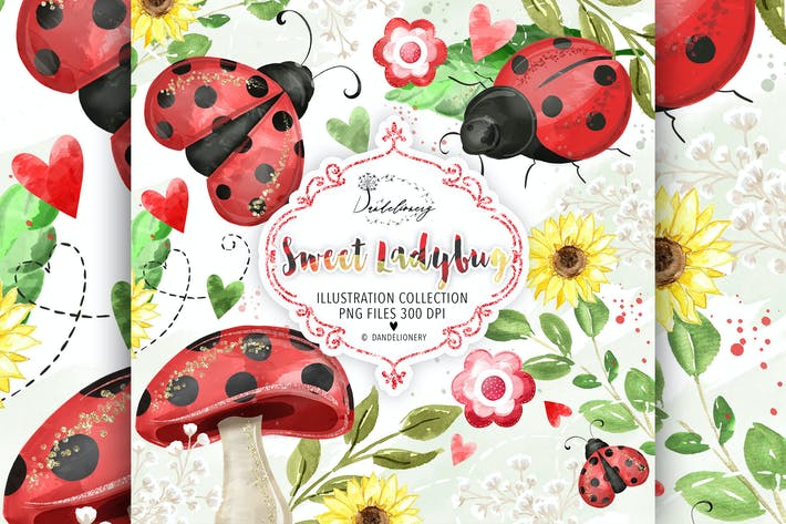Thumbnail for Sweet Lady Bug design