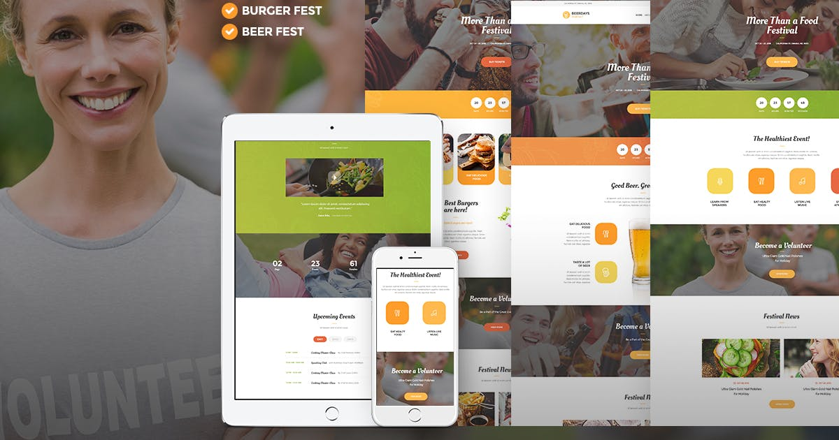 Download VegaDays -Vegetarian Food Festival & Eco Event WP by AncoraThemes