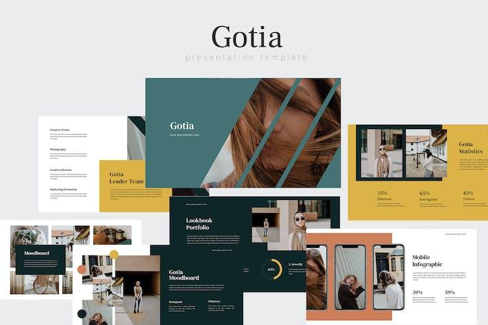 Thumbnail for Gotia - Фотография Google Слайды Шаблон