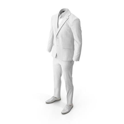 Men's Suit White